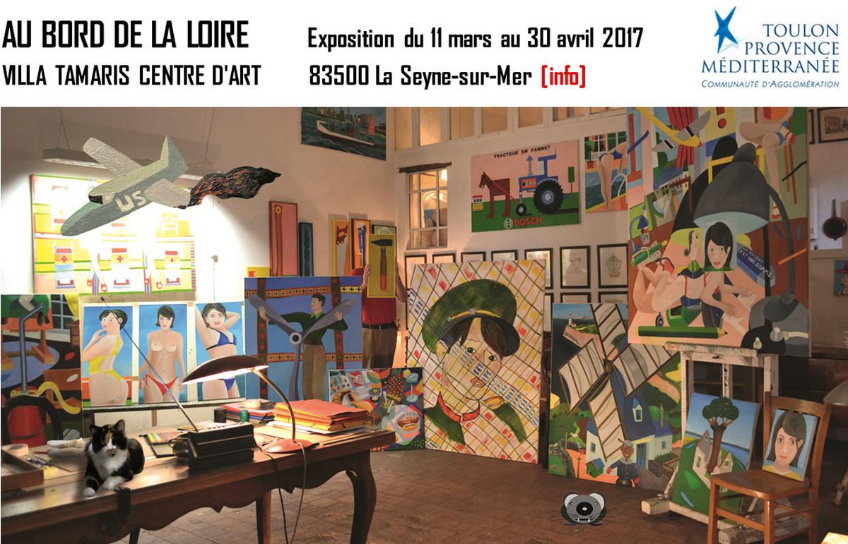 2017 Expostion AU BORD DE LA LOIRE 11.03. Villa Tamaris, La Seyne-sur-Mer. Foto: . Gestaltung: